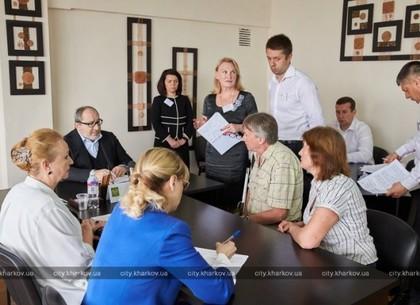 Геннадий Кернес провел личный прием в Московском районе