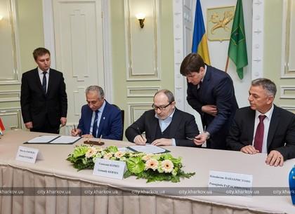 Харьков подписал договоры о партнерстве с двумя городами Кипра