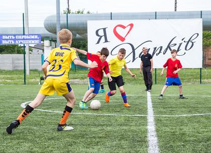 Харьковские школьники разыграли кубок по мини-футболу