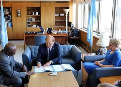 Украина подписала меморандум о сотрудничестве с Международной морской организацией