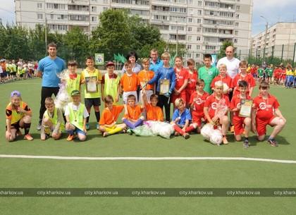 Школьники Салтовки и центра Харькова выяснили, кто лучший в мини-футболе