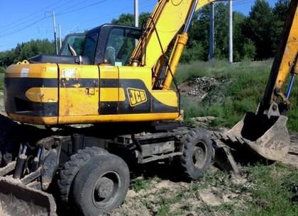 Полицейские «накрыли» незаконную добычу песка в Красноградском районе