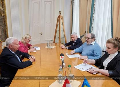 Геннадий Кернес встретился с послом Голландии