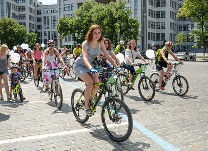 Женский велопарад «ВелоМузы» в Харькове