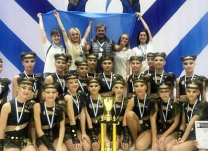 Харьковчанки стали серебряными призерами чемпионата Европы по черлидингу