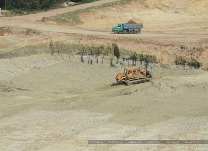 Как строят мусороперерабатывающий комплекс под Харьковом: ФОТО