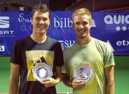 Харьковский теннисист в дуэте с британцем выиграл турнир в Испании