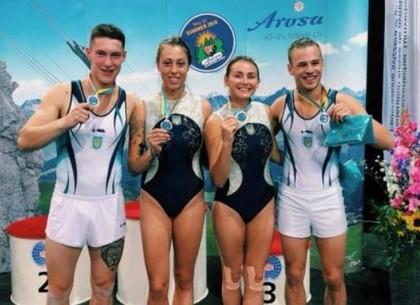 Харьковчанин завоевал «серебро» Кубка мира по прыжкам на батуте