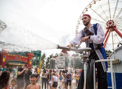«Экватор лета» в парке Горького