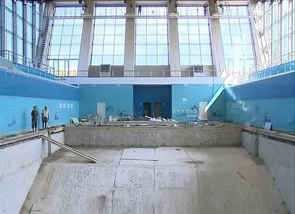 В спортшколе олимпийского резерва имени Яны Клочковой капитально реконструируют бассейн
