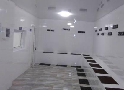 У осужденных Холодногорской колонии - новые бани (ФОТО)