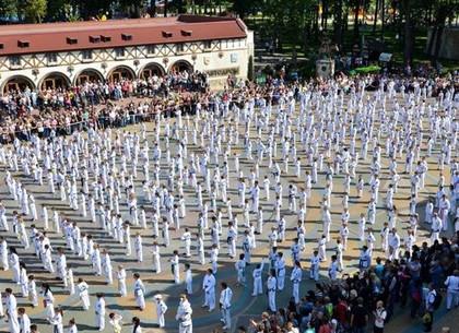 На ярмарку спорта в парке Горького зарегистрировалось рекордное количество харьковских организаций