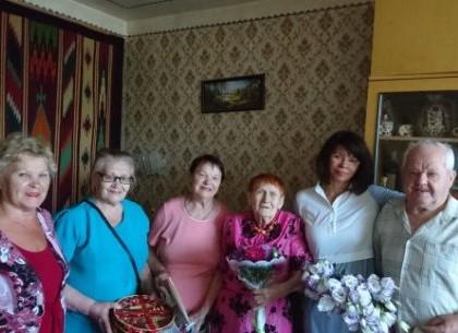 Сегодня день рождения у одной из старейших жительниц Харькова