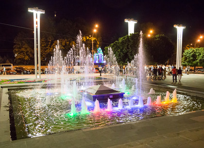 Летний вечер в центре Харькова