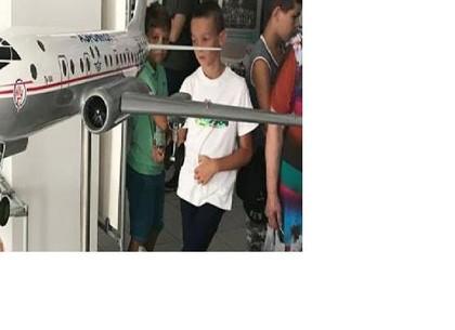 Юные харьковчане познакомились с авиастроительной отраслью