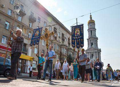 28 августа в центре Харькова проведут Крестный ход: изменится движение транспорта