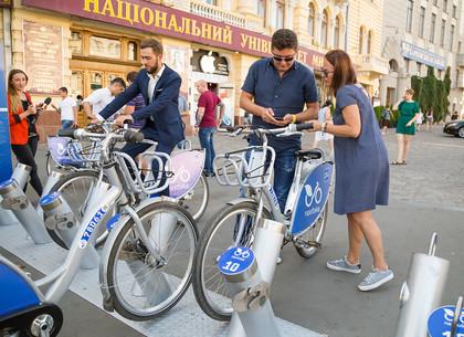 Как в Харькове в тестовом режиме работает муниципальный прокат велосипедов