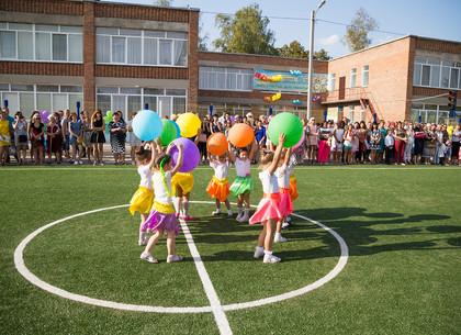В детском садике №29 открыли дополнительную группу и современный стадион для малышей