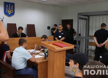 Стрельба под Харьковом: нападавшие на элеватор отправлены за решетку (ФОТО)
