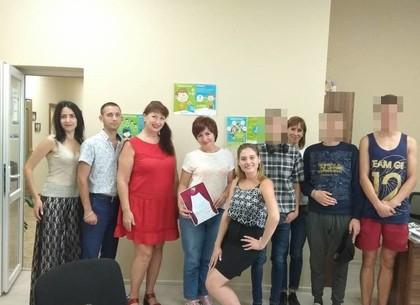 Условно осужденные харьковские подростки освоили азы актерского мастерства (ФОТО)