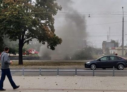 Спасатели ликвидировали возгорание в подземном переходе (обновлено, ФОТО)