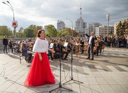Возле «Держпрома» состоялась большая музыкальная акция