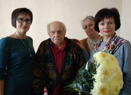 Харьковчанин-долгожитель отметил 101-й день рождения