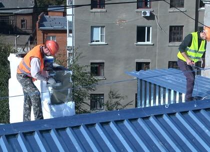Три десятка аварийных шатровых крыш отремонтируют в этом году в Харькове