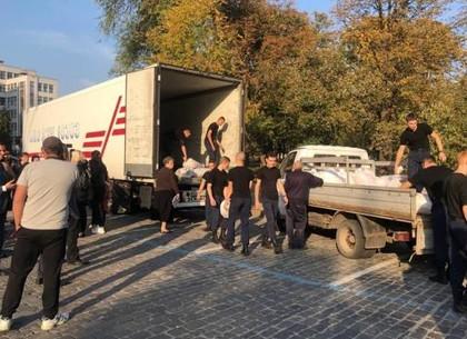 Харьковщина отправила в Черниговскую область гуманитарную помощь