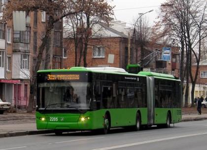 На ХТЗ троллейбусы сегодня курсируют по измененному маршруту