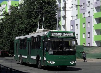 Два дня по улице Танкопия не будут ходить троллейбусы