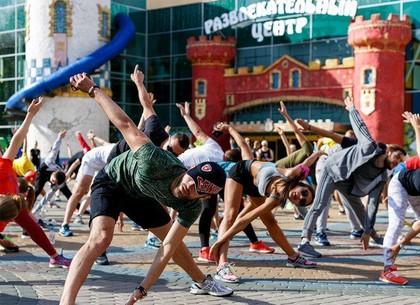 Харьковчан приглашают на открытую фитнес-тренировку в парк Горького
