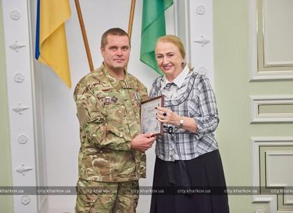 В городском совете прошел прием по случаю Дня защитника Украины