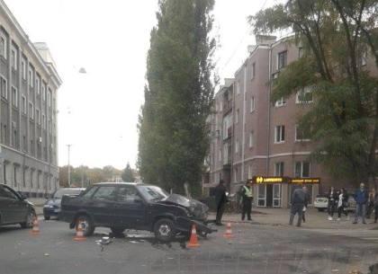 На Чернышевской – ДТП с пострадавшим (ФОТО)