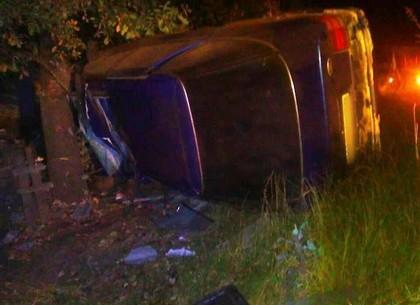Забор – дерево – смерть: под Харьковом погиб водитель иномарки