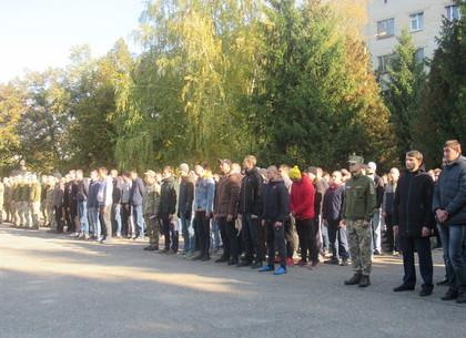 Торжественная отправка харьковских призывников «ОСЕНЬ-2018» в войска (ФОТО)