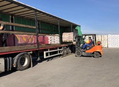 Харьковщина передала Черниговской области очередной груз гуманитарной помощи