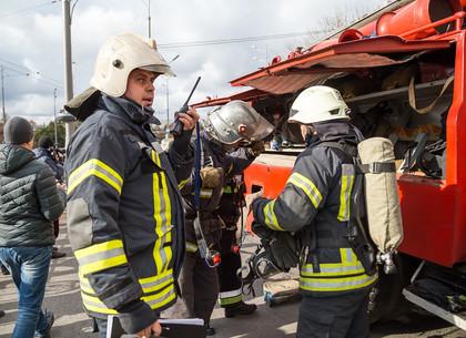 В БТИ из-за возгорания эвакуировали 60 человек. Руководство предприятия совместно со спасателями провели учения