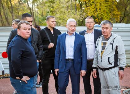Игорь Терехов проинспектировал ход строительства пробивки за оперным театром