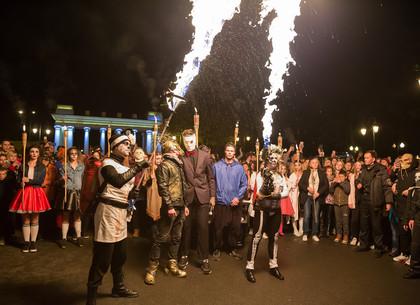 Хэллоуин в парке Горького