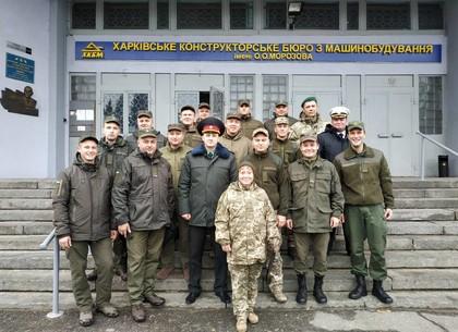 На базе харьковского КБ руководящий состав военных частей НГУ, ВСУ, ГПСУ обучали новейшим технологиям