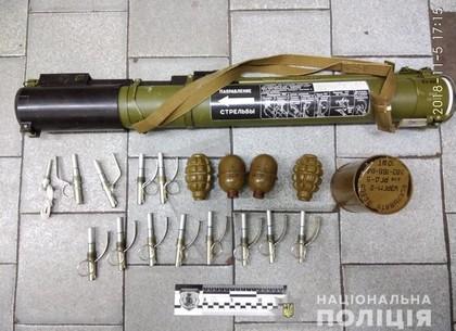 ЧП в харьковском метро: мужчина гулял в подземке с РПГ и гранатами (ФОТО, ВИДЕО)
