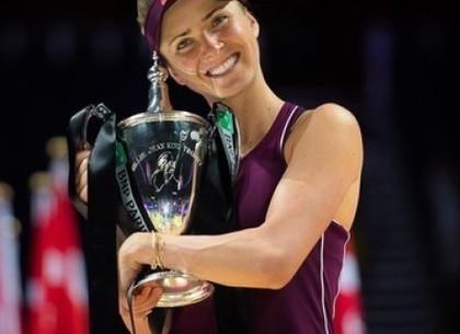 Лучшей теннисисткой октября в мире стала Элина Свитолина