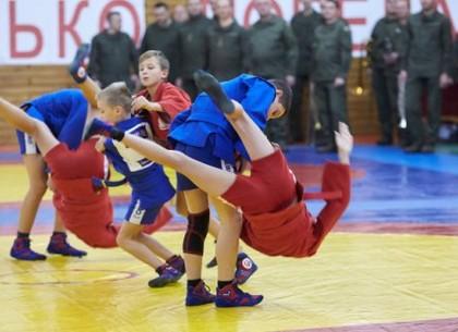 В Харькове проходит всеукраинский турнир по самбо