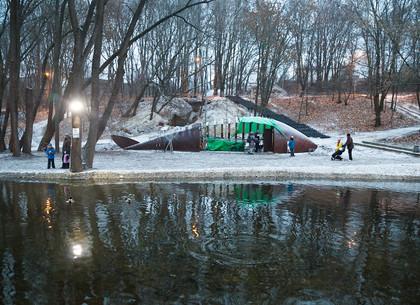 Первый снег в Саржином яру, Харьков