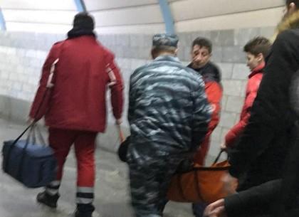 ЧП: мужчине стало плохо в метро (ФОТО)