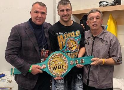 Александр Гвоздик завоевал титул чемпиона мира в полутяжелом весе