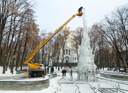 В Харькове появится громадная ледяная елка