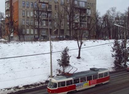 Трамвай №12 временно снимут с маршрута