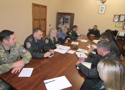 В условиях военного положения в одной из харьковских колоний провели учения по гражданской обороне